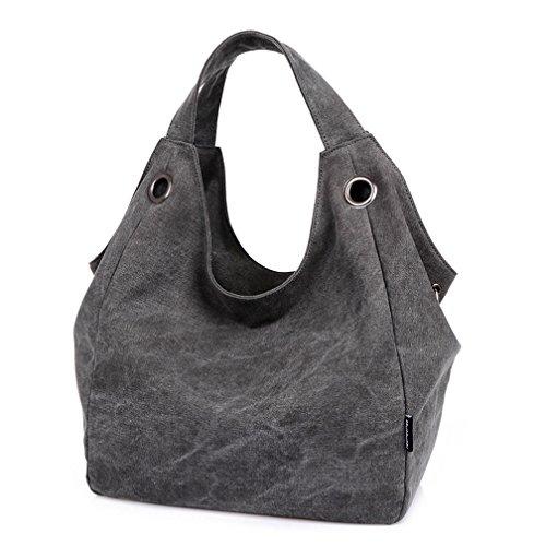 TianHengYi ,  Damen Tasche Rauchschwarz