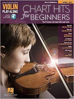 Chart Hits for Beginners: Violin Play-Along     - Amazon com
