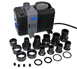 EXTRAUP 2100GPH Electric Adjustable Flow Garden