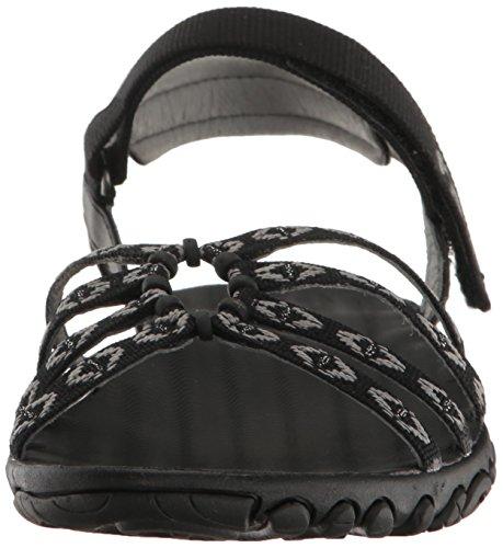 Teva W Kayenta W's, Zapatillas de Atletismo para Mujer Negro (Carmelita Black)