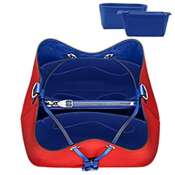4a41b0615a1a Amazon.com  LEXSION 2-Pack Felt Handbag Organizer