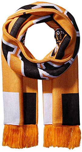 MLS Houston Dynamo Adult MLS SP17 3 Stripes Jacquard Scarf,OSFA,Orange