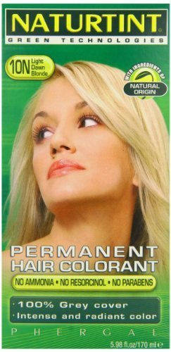 Naturtint Hair Color Permanent, 10N Light Dawn Blonde, 5.28 Ounce