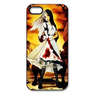 Nafeesa J. Hopkins's Shop New Style Game DIY Design 8 Alice Madness Returns Print Black Case With Hard Shell Cover for Case For Samsung Galaxy S3 i9300 Cover S