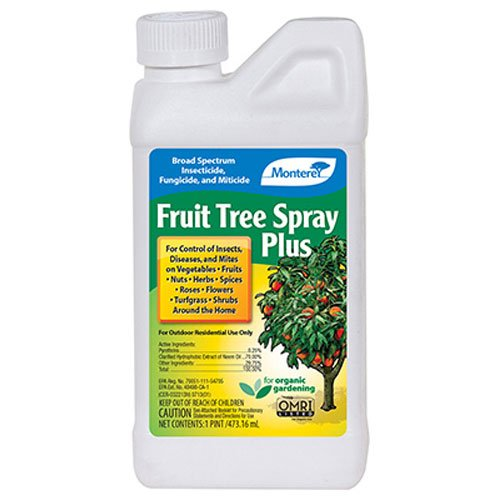 Monterey LG 6184  Fruit Tree Plus for Control of Insects, Diseases & Mites Conc 1pt by Monterey