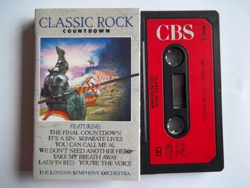 LONDON SYMPHONY ORCHESTRA Classic Rock Countdown cassette