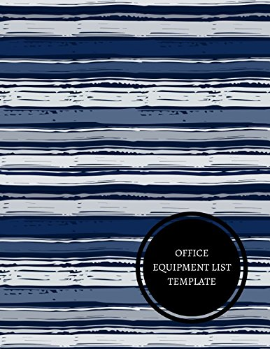 Amazon Com Office Equipment List Template Equipment Inventory Log 9781521712412 For All Journals Books