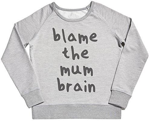 Para De Madre Suéter Conjunto Blame Mum Brain Gris Sr Madres Regalo The qxRga0wX