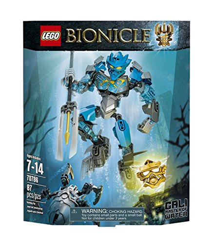 (Ship from USA) LEGO Bionicle Gali Master Of Water 70786 /ITEM#H3NG - Master Water Bionicle Of