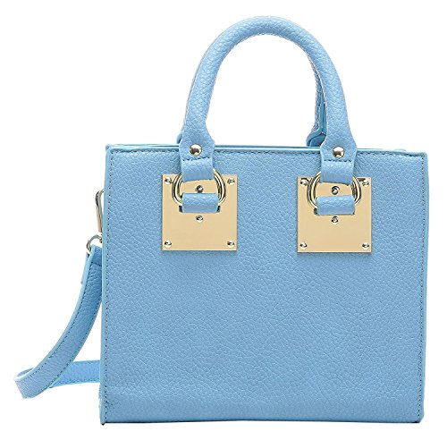 Aitbags Women Top Handle Purse and Handbag Crossbody Bag Mini Tote Shoulder (Mini Satchel)