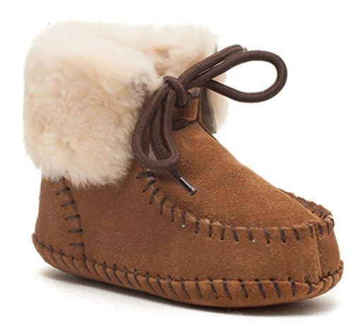 Sheepskin Baby Bootie - 3