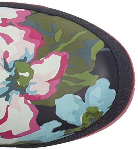 Floral Trabajo de Mujer JoulesWellyprint Blue Exclusive Agua de Navy Botas wpaxRBqIz