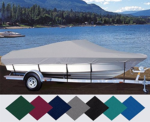 TL-SBU 6.25oz New Custom Exact FIT Boat Cover BAYLINER 1702 Capri LS Cuddy Cabin Bow Rails O/B 1995-1998