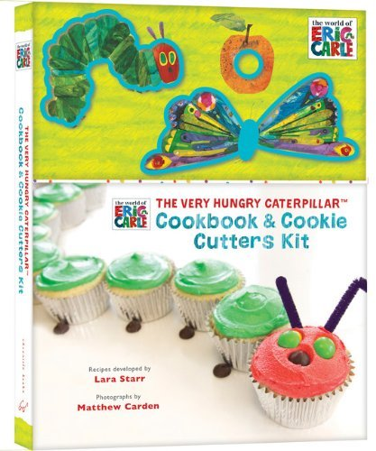 Recipes For Halloween Finger Cookies (The Very Hungry Caterpillar Cookbook and Cookie Cutters Kit (The World of Eric Carle) by Eric Carle)