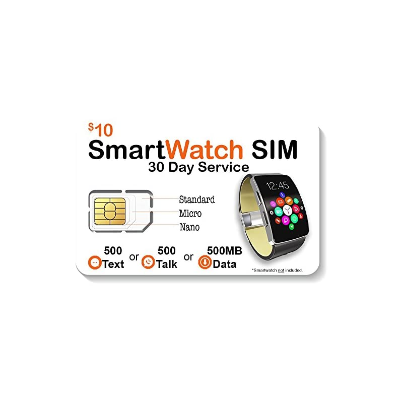 Smart Watch SIM Card for 2G 3G 4G LTE GS
