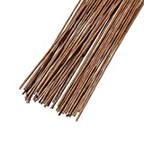 DECORA 18 Gauge Brown Floral Wire for Artificial Flower Making 16 inch,50/Package