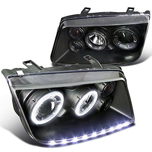Spec-D Tuning LHP-JET99JM-APC Black Projector Headlight (Led Stripe Dual ()