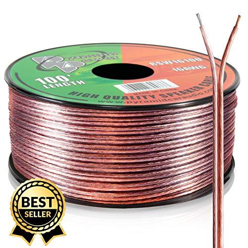 Pyramid RSW16100 16 Gauge 100 Feet Spool of Speaker Zip Wire