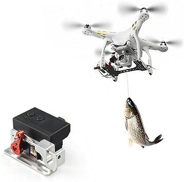 GCDN Dron Lanzador, Dron Clip Capacidad de Carga Airdrop Transporte Dispositivo Dron Liberación Pesca Cebo Carga Boda Propuesta Dispositivo para dji ...