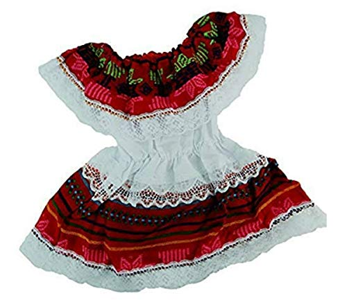 Mexican Infant Dress Size 0 Dress Day of The Dead Coco Theme Party Halloween Party ()