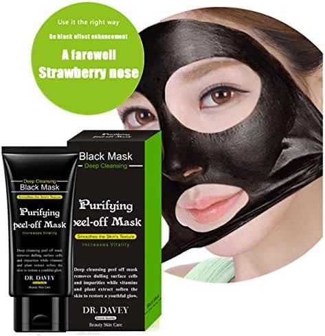 Essy Beauty Active Charcoal Blackhead Remover Mask With Deep Clean Formula Suction Mask (60 g)