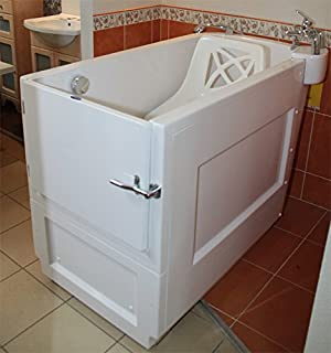Senioren Dusche Sitzbadewanne Sitzwanne Badewanne mit Tür Pool ... | {Duschbadewanne mit tür 85}