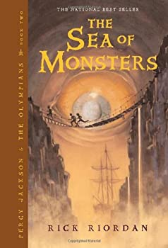 The Sea of Monsters 1423103343 Book Cover