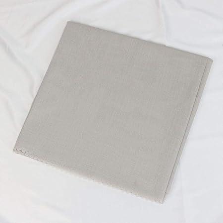 ASD - Pañuelo para la cabeza de las mujeres de algodón cuadrado plateado Plateado: Amazon.es: Hogar