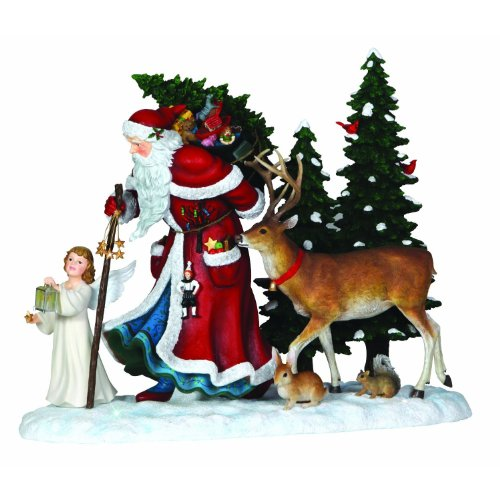 "Pipka, Christmas Gifts, ""Guiding Light Santa"", Limited Edition Resin Sculpture, ()"