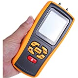 GM510 Portable Digital LCD Display Pressure Manometer 50KPa Pressure Differential Manometer Pressure Gauge