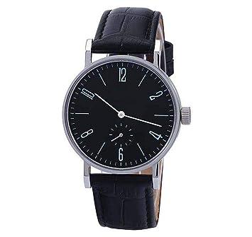 irugh Reloj multifunción, Cinturón Impermeable de un Solo Ojo de Acero Inoxidable, Reloj de Hombre Ultrafino de Alta Gama, Movimiento Importado: Amazon.es: ...