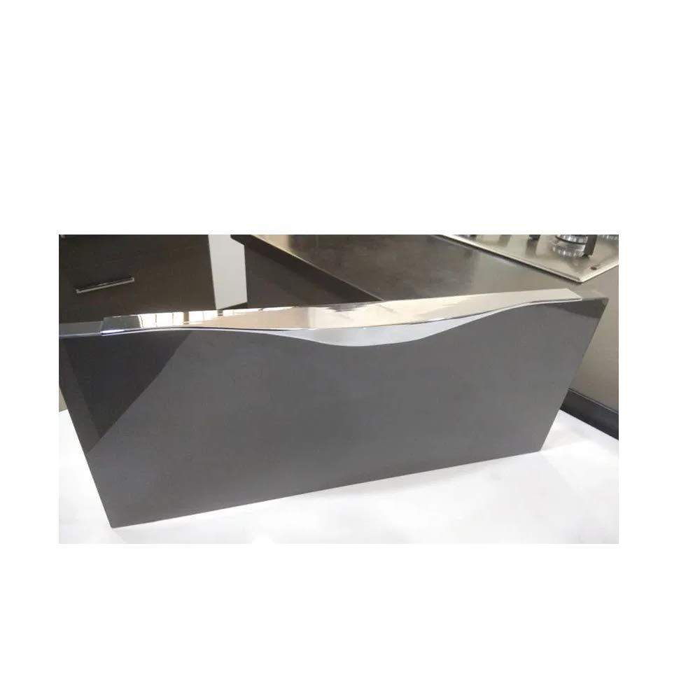 Deodap Aluminium Kitchen Profile Handle Cabinet Door Drawer Handles 8inch Silver Amazon In Home Improvement