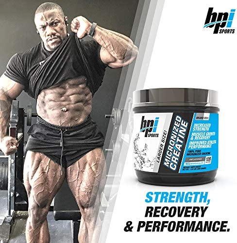 BPI Sports Micronized Creatine  Increase Strength  Reduce Fatigue  Lean Muscle Building  100 Pure