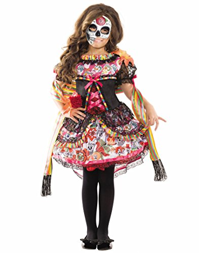 Day of the Dead Fiesta Senorita Kids Costume ()