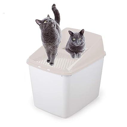 Amazon.com: Caja de arena Top-Entry, aspecto excelente ...