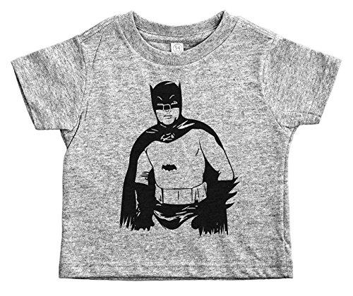 Baffle® Retro Batman Toddler Shirt/Batman/Adam West Illustration (2T, - Key In Stores West Clothing