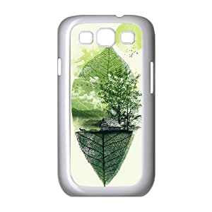 {W Series} Samsung Galaxy S3 Cases Live in Nature, Case Dustin - White