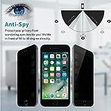iPhone 7 / 8 Privacy Anti Spy Anti-Glare Ballistic Tempered Glass HD 2.5D Curve Edge Screen Protector 9H Hardness