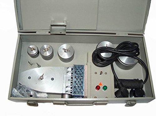 Muffenschweiß gerä t zum rationellen Stumpfschweiß en 1100W 16-63 mm Kunststoffrohrschweiß er Mar