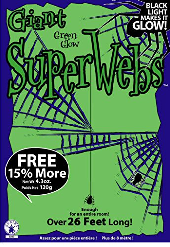 Rubie's Giant Green Spiderwebs with -