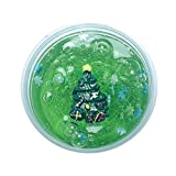 callm Christmas Slime Scented Charm Soft Mud Stress Relief Kids Clay Toys Xmas - 60ml