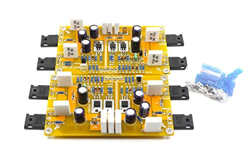 Assembled PASS A3 Single-ended Class A power amplifier board 30W+30W DIY AMP by Jolooyo