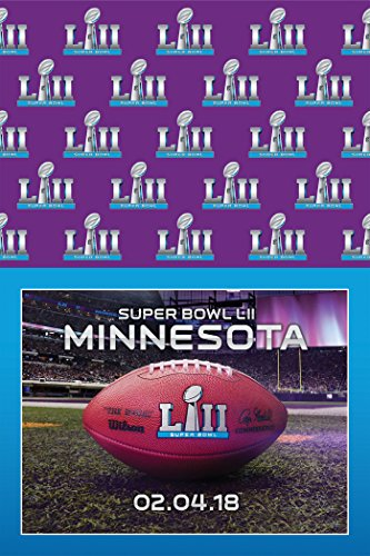 NFL Super Bowl 52 LII Party Tablecover
