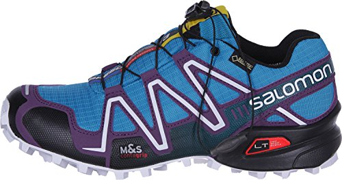 Cosmic scuba GTX 3 speed Blue da Purple donna Black cross Salomon C8fYqn