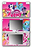 My Little Pony Friendship is Magic MLP Pinkie Pie Rarity Rainbow Dash Twilight Sparkle Applejack Video Game Vinyl Decal Skin Sticker Cover for Nintendo DSi System