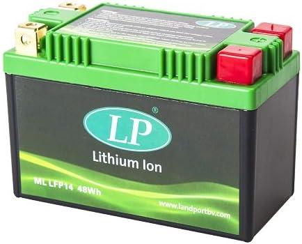2000-2017 Accossato ML LFP14-1837 Batteria al Litio per Yamaha XJR 1300 SP 1300,