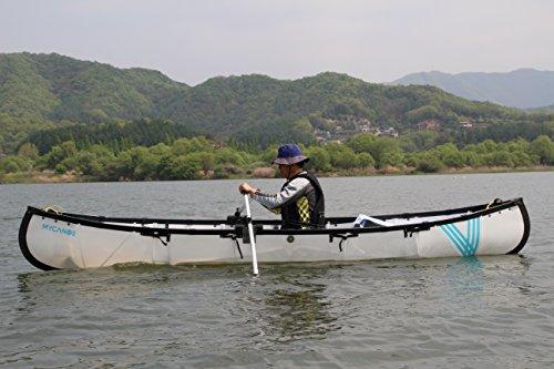 MYCANOE Plus Origami folding portable canoe w/ paddle foldable collapsible boat