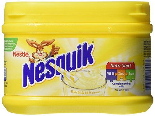 Nestle Nesquik Banana Flavor Milk Shake 300 G (3 - Banana Nesquik