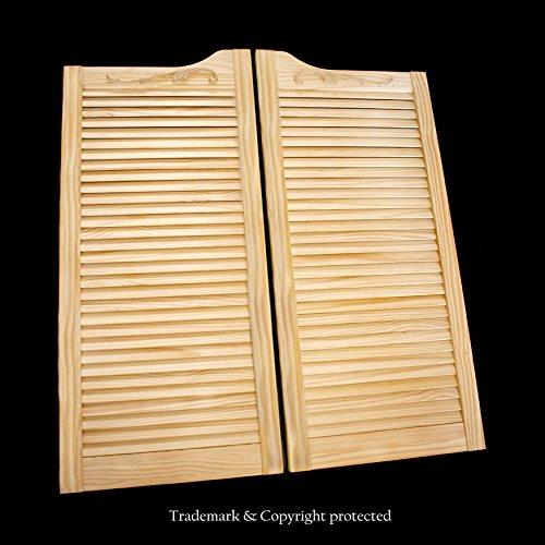 Cafe Doors by Cafe Doors Emporium | Pine Wood Cafe Doors | Prefit for 32