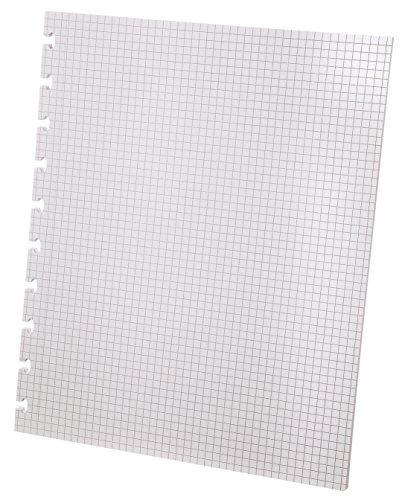 Ampad Versa Graph Paper Refill, 8-1/2 x 11, Graph Rule, White, 40 SH/PK, 24/CT by Ampad